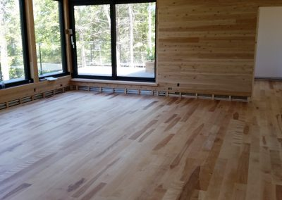 hardwood flooring wood walls custom install