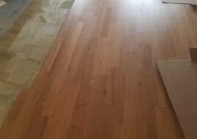 New Edinburgh 1 Hardwood Flooring Installation